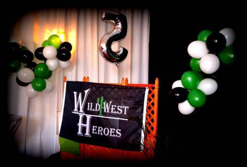 5. Geburtstag der Wild West Heroes